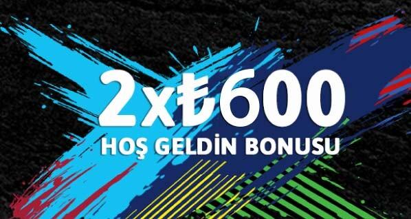 Youwin Hoş Geldin Bonusu - 1200 TL